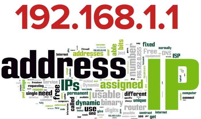 Ip-адреса с помощью которых можно зайти в найстройки роутера