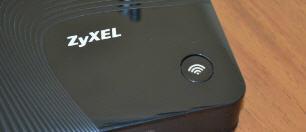 Кнопка включения wps на роутере ZyXEL
