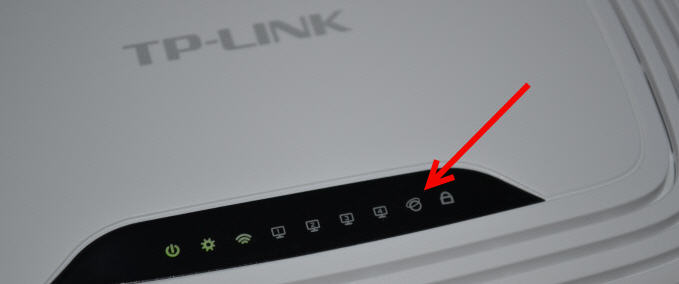 Интернет соединение не поступает к роутеру
