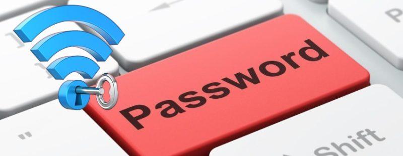 Информация о пароле свое сети Вай-Фай
