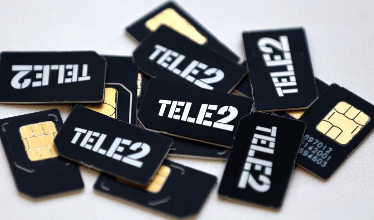 Оператор сотовой связи Теле2
